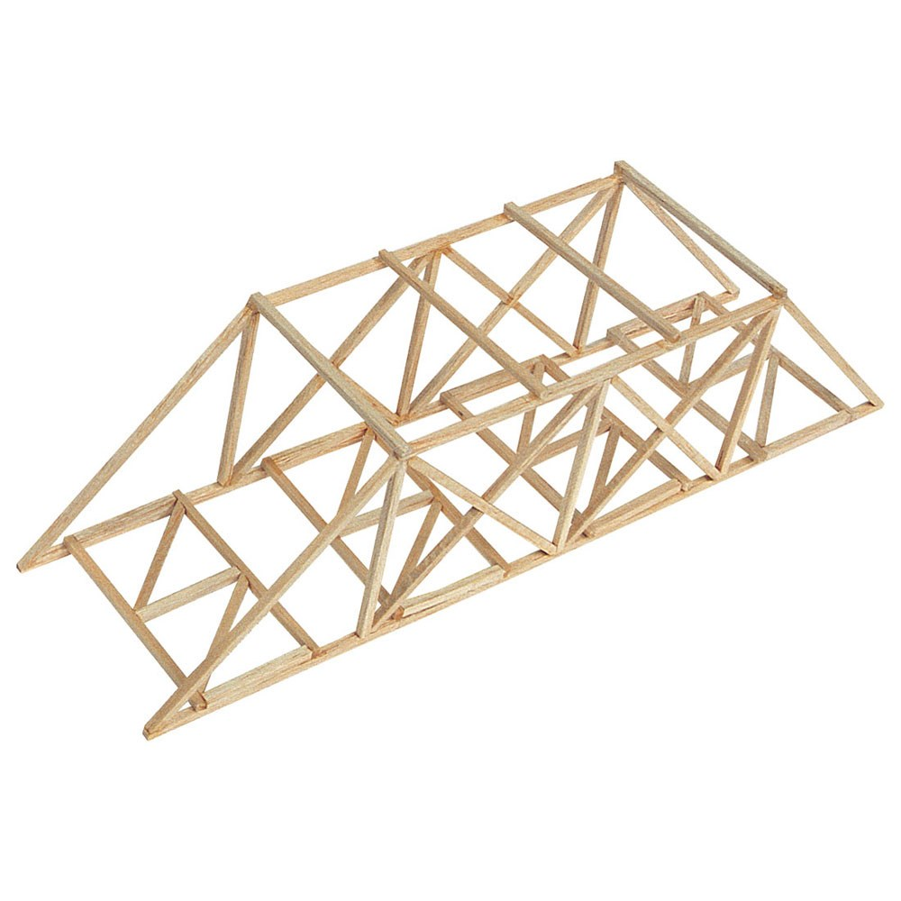 Zpi51706 Pitsco Balsa Bridges Class Pack Of 25