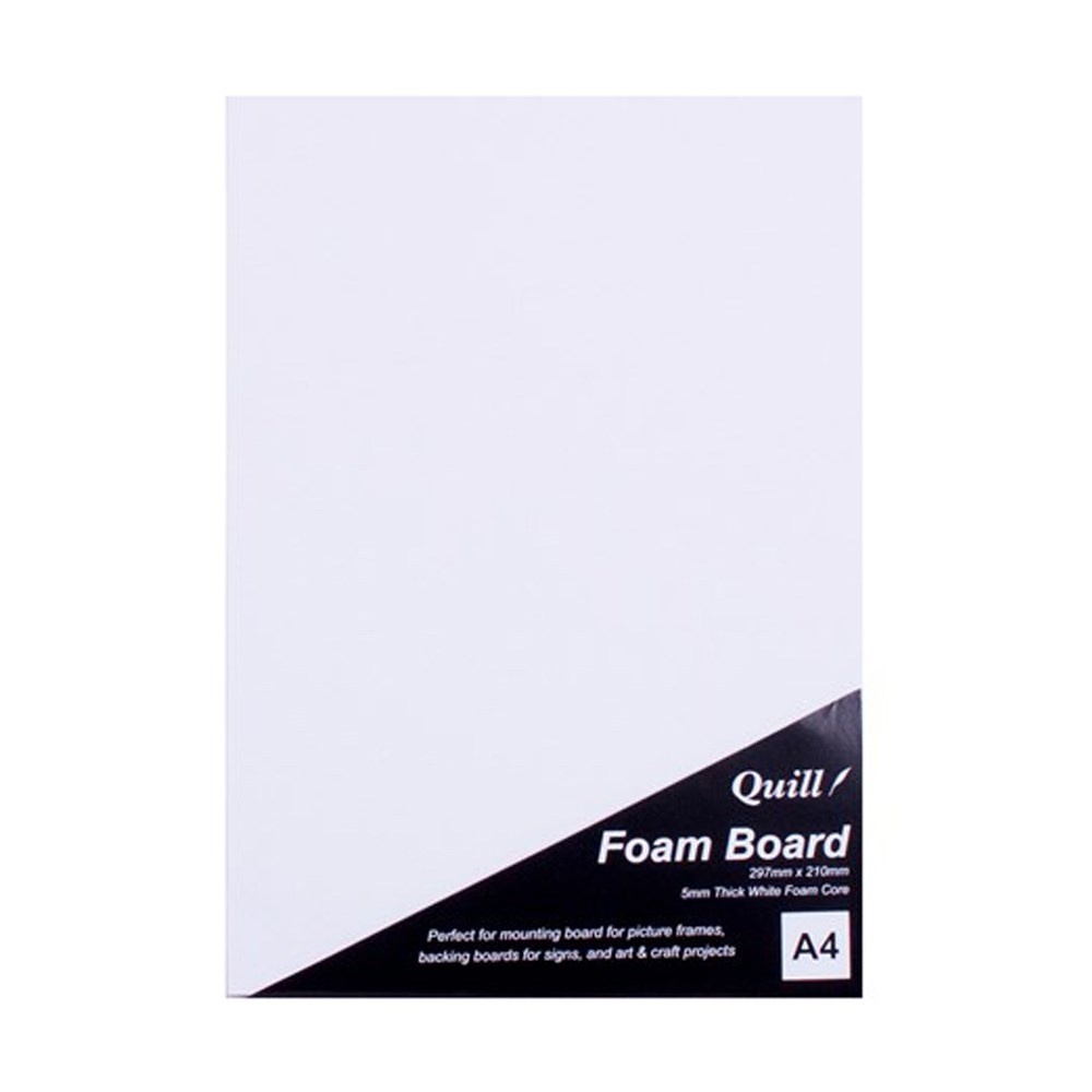 Foam Board A4 White